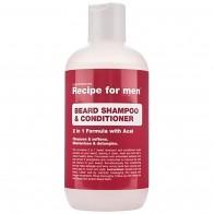 Шампунь и кондиционер для бороды Recipe for Men Beard Shampoo and Conditioner 250мл - Для ухода за бородой