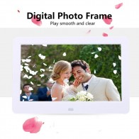 US $39.52 |10 inches Digital Picture Frame Photo Album High Resolution MP3 MP4 Movie Player Alarm Clock with Remote Control-in Digital Photo Frames from Consumer Electronics on Aliexpress.com | Alibaba Group