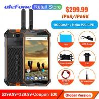 17262.44 руб. 36% СКИДКА|Ulefone power 3 T для переносного приемо передатчика IP68 Водонепроницаемый смартфон Helio P23 Face ID 5,7