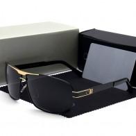 408.91 руб. 25% СКИДКА|Модные мужские поляризованные брендовые солнцезащитные очки с логотипом lentes de sol mujer очки для вождения Oculos De Sol 722 купить на AliExpress