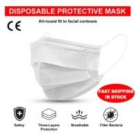 Маска для лица, рта, одноразовые, 3 слоя, анти-туман, пыль, дышащие маски для лица, эластичные, ушные петли, маска для лица, защитные, анти-инфек...