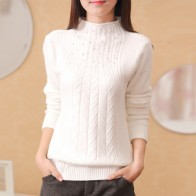 778.43 руб. 80% СКИДКА|Лидер продаж, новинка 2019 г. осень зима универсальная тонкий свитер верхняя одежда женщин водолазка свитер для женщин-in Пуловеры from Женская одежда on Aliexpress.com | Alibaba Group