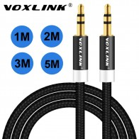 US $1.31 10% OFF|VOXLINK 1m/2m/3m Gold Plated Plug 3.5mm Aux Cable Male to Male Audio Cable Line For Car iPhone MP3/MP4 Headphone Speaker on Aliexpress.com | Alibaba Group