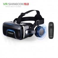 1634.7 руб. 50% СКИДКА|Лидер продаж! 2019 г. Google Cardboard VR shinecon Pro версия виртуальной реальности 3D очки + Smart Bluetooth беспроводной пульт дистанционного управления геймпад-in 3D очки, очки виртуальной реальности from Бытовая электроника on Aliexpress.com | Alibaba Group