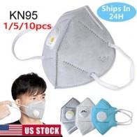 Противозагрязняющая маска для рта KN95 пылезащитный респиратор Моющиеся Многоразовые маски хлопковые унисекс маффли для рта для аллергии/ас...