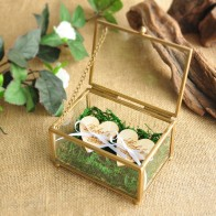 US $16.99 |Personalized Glass Ring Box Copper Wedding Ring Bearer Box Stained Glass Ring Pillow Hexagon Box Geometric Jewelry Box-in Party DIY Decorations from Home & Garden on Aliexpress.com | Alibaba Group