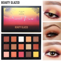 US $5.98 60% OFF|BEAUTY GLAZED 15 Color Eyeshadow Pallete Make up Long lasting Eye Shadow Matte Easy to Wear Makeup Palette paleta de sombra-in Eye Shadow from Beauty & Health on Aliexpress.com | Alibaba Group