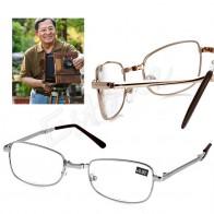 83.08 руб. 17% СКИДКА|Складные металлические очки для чтения + 1,00 1,50 2,00 2,50 3,00 3,50 4,00 диоптрий + чехол-in Мужские очки для чтения from Аксессуары для одежды on Aliexpress.com | Alibaba Group