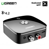 US $16.99 20% OFF|Ugreen Bluetooth RCA Receiver 4.2 aptX 3.5mm Jack Aux Audio Wireless Adapter Music for Headphone Car 2RCA Bluetooth Receiver 3.5-in Wireless Adapter from Consumer Electronics on Aliexpress.com | Alibaba Group