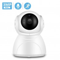 BESDER 1080P 3MP Wifi IP Camera Auto Tracking IR Night Vision Home Security Camera Indoor Mini Audio Baby Monitor CCTV Camera IP