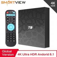 2861.64 руб. 30% СКИДКА|2018 Android 8,1 ТВ коробка VONTAR T9 4 Гб Оперативная память 32 ГБ/64 ГБ Встроенная память Rockchip RK3328 1080 P H.265 4 K проигрыватель Google магазине Youtube ТВ коробка купить на AliExpress