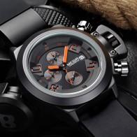 € 18.7 48% de DESCUENTO|Reloj de cuarzo informal MEGIR para hombre, reloj de silicona negro grabado en 3D, reloj deportivo militar impermeable para hombre MG2002-in Relojes deportivos from Relojes de pulsera on Aliexpress.com | Alibaba Group