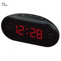 716.95 руб. 43% СКИДКА|AsyPets новые модные современные AM/светодио дный FM светодиодные часы радио Электронный Настольный будильник цифровые настольные часы функция повтора 25 купить на AliExpress