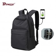 US $18.72 48% OFF| Anti theft backpack usb charging men school bag for teenagers boys Preppy canvas backpacks male casual Schoolbag bagpack black -in Backpacks from Luggage & Bags on Aliexpress.com | Alibaba Group