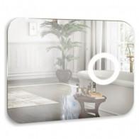 Купить Зеркало MIXLINE Лиза 800*600 (ШВ) сенсорный выключатель+увеличит. зеркало в Ульяновске - Сенсорные зеркала