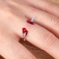 € 0.37 20% de DESCUENTO|Anillos de lujo de alta calidad para mujer, anillos de uñas para hombre, anillos de boda-in Anillos from Joyería y accesorios on Aliexpress.com | Alibaba Group