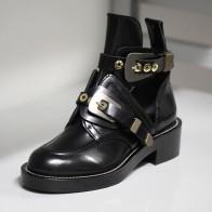 2423.29 руб. 49% СКИДКА|Винтажные мотоциклетные ботинки; женские ботильоны в стиле панк с заклепками; зимние ботинки с пряжкой и ремешком; женская обувь; SWE0084-in Ботильоны from Туфли on Aliexpress.com | Alibaba Group