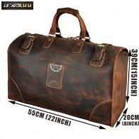 7350.07 руб. 48% СКИДКА|Настоящая Crazy Horse кожаная мужская большая емкость Дизайн Спортивная для путешествия багажная сумка Мужской Стильный чемодан сумка A8151-in Дорожные сумки from Багаж и сумки on Aliexpress.com | Alibaba Group