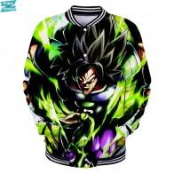 € 8.77 30% de DESCUENTO|Dragon Ball Super Broly 3D impreso chaquetas de béisbol mujeres/hombres Casual de manga larga chaquetas gran venta Popular ropa de calle-in Chaquetas from Ropa de hombre on Aliexpress.com | Alibaba Group