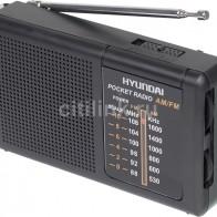 Купить Радиоприемник HYUNDAI H-PSR130,  черный в интернет-магазине СИТИЛИНК, цена на Радиоприемник HYUNDAI H-PSR130,  черный (1098975) - Москва