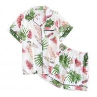 449.24 руб. 25% СКИДКА|Японские Простые короткие пижамы для женщин из 100% хлопка с короткими рукавами женская пижама наборы шорты милый мультфильм пижамы Женская домашняя одежда-in Комплекты пижам from Нижнее белье и пижамы on Aliexpress.com | Alibaba Group