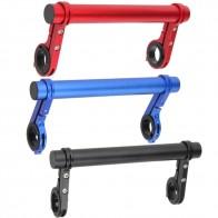 20 см углеродная трубка, велосипедный руль, расширитель, крепление для горного велосипеда MTB, велосипедная фара, кронштейн, лампа, фонарик, аксессуар держатель