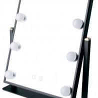 Купить Зеркало косметическое настольное GESS uLike Maestro с подсветкой черный по низкой цене с доставкой из Яндекс.Маркета (бывший Беру) - Самая желанная техника
