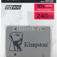 SSD накопитель KINGSTON UV500 SUV500/240G 240Гб
