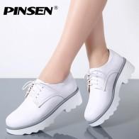 2331.18 руб. |PINSEN/весенние женские туфли на плоской платформе; оксфорды из натуральной кожи; туфли на плоской подошве со шнуровкой; женская повседневная обувь на толстой подошве; женская обувь на каблуке-in Женская обувь без каблука from Туфли on Aliexpress.com | Alibaba Group