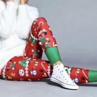 US $2.66 |Vertvie Merry Christmas Sport Leggins Women