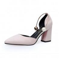 519.86 руб. 45% СКИДКА|Новинка 2018 г., модные замшевые туфли на высоком каблуке в Корейском стиле-in Женские туфли from Туфли on Aliexpress.com | Alibaba Group