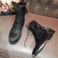 6539.05 руб. |Конский волос верхняя обувь женские ботильоны на шнуровке Повседневное рыцарские сапоги Дизайн на низком каблуке круглый носок женские ботинки женская обувь прилива-in Ботильоны from Туфли on Aliexpress.com | Alibaba Group
