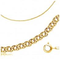 Купить Бронницкий Ювелир Браслет из желтого золота 510250501, 17 см, 0.85 г по низкой цене с доставкой из маркетплейса Беру
