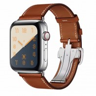 US $13.99 |top quality Single Tour Deployment Buckle Leather Loop For Apple Watch 4 band strap for iwatch 38mm 42mm 40mm 44mm Series 3 2 1-in Watchbands from Watches on Aliexpress.com | Alibaba Group