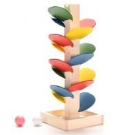 Игрушки Marble Run, деревянные блоки, Монтессори, мраморный шар, беговая дорожка, Детская модель, дети, дети, интеллект, деревянная Радужная игруш... - Небанальные детские игрушки