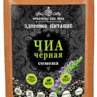 Купить Продукты ХХII века Чиа черная семена, 100 г по низкой цене с доставкой из маркетплейса Беру