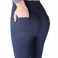 537.51 руб. 44% СКИДКА|HEE GRAND/2018 г. женские весенние базовые узкие брюки эластичные черные белые брюки со средней Талией большого размера Капри большого размера XL 5XL WKX398-in Штаны и капри from Женская одежда on Aliexpress.com | Alibaba Group