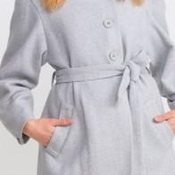 Женское пальто Dilvin ME-101A06825_Gri - Пальто пастельных тонов