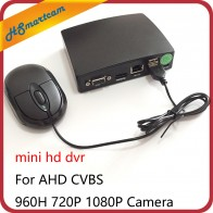 2468.41 руб. 24% СКИДКА|4CH Мини HD камера видеонаблюдения s видео рекордер 1080N AHD DVR для AHD CVBS 960 H P 1080 p камера Поддержка мини TF карта купить на AliExpress