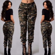 US $4.87 8% OFF|Plus Size Women Camouflage Army Fashion Cool Girls Stylish Daily Clothes Skinny Fit Stretchy Jeans Jegging Trousers-in Pants & Capris from Women