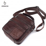 US $14.02 53% OFF|ZZNICK 2019 Genuine Cowhide Leather Shoulder Bag Small Messenger Bags Men Travel Crossbody Bag Handbags New Fashion Men Bag Flap on Aliexpress.com | Alibaba Group