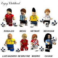 € 6.57 16% de réduction|2018 8 Pcs/ensemble de Football Coupe Du Monde Lecteur Figure Équipe Ronaldo Messi Blocs de Construction Briques Enfants Jouets Compatible Avec Legoings dans Blocs de Jouets et loisirs sur AliExpress.com | Alibaba Group