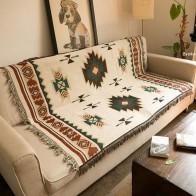 1929.87руб. 25% СКИДКА|Многофункциональное вязаное одеяло для дивана, одеяло с геометрическим узором, ковер для гостиной, спальни, мягкий ковер, покрывало, скатерть, гобелен-in Ковер from Дом и животные on AliExpress - 11.11_Double 11_Singles