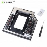 166.1 руб. 25% СКИДКА|Kebidu Пластик + Алюминий Универсальный Optibay 2nd HDD Caddy 9,5 мм SATA3.0 2,5