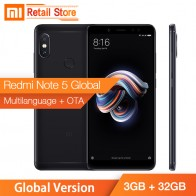 € 331.26 |Versión Global Xiaomi Redmi Note 5 teléfono inteligente 3 GB RAM 32 GB ROM Snapdragon636 Octa Core 5,99