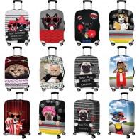 556.48 руб. 36% СКИДКА|Бульдог шаблон аксессуары для путешествий, чемодана крышка чемодан защита багажа пылезащитный чехол стрейч ткани багажник Набор чехлов для-in Туристические товары from Багаж и сумки on Aliexpress.com | Alibaba Group