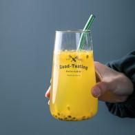 387.39руб. 49% СКИДКА|Стеклянная чашка лампа рабочие стакан для молока буквы кружка холодный напиток Десерт стекло смузи Снежный горшок вогнутая стеклянная кружка для сока-in Прочее стекло from Дом и животные on AliExpress - 11.11_Double 11_Singles