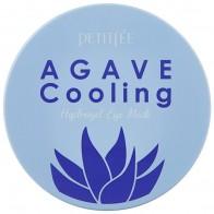 Купить Petitfee Охлаждающие гидрогелевые патчи для век с экстрактом агавы Agave cooling hydrogel eye patch 84 г (60 шт.) по низкой цене с доставкой из маркетплейса Беру