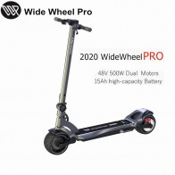 Mercane WideWheel Pro Smart Electric Scooter Kickscooter Wide Wheel Dual Motor scooter Disc Brake Skate board 48V 1000W