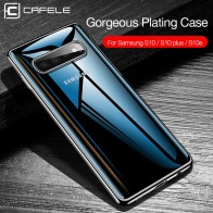 US $2.99 40% OFF|Cafele Plating Transparent Case for Samsung Galaxy S10 Plus S10e Cover Soft TPU Thin Silicon Case for Samsung S10 S10Plus S10e-in Fitted Cases from Cellphones & Telecommunications on Aliexpress.com | Alibaba Group